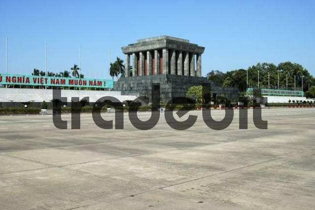 Mausoleum of Ho Chi Minh Hanoi Vietnam
