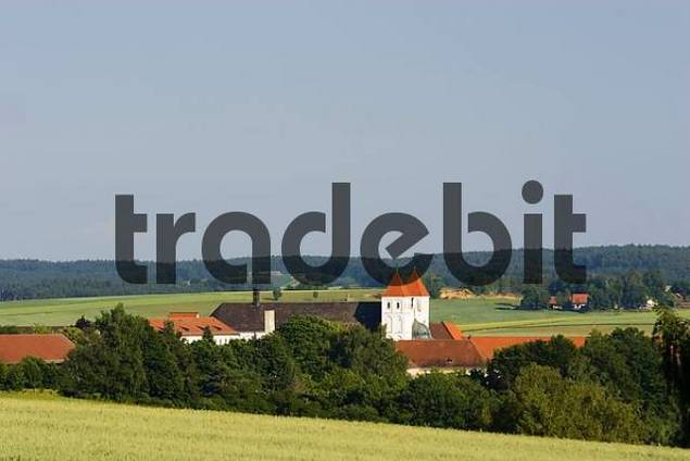 abbey Mallersdorf Lower Bavaria Germany