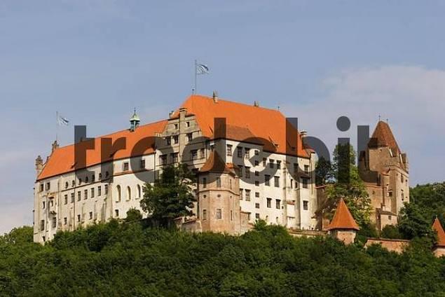 Trausnitz castle Landshut Bavaria Germany