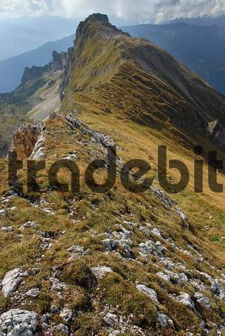 Dalfaz Walls, Rofan, Brandenberg Alps, Eastern Alps, Tyrol, Austria