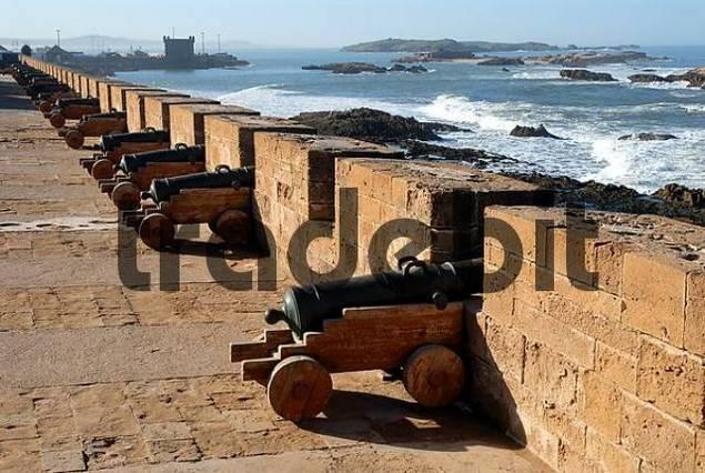 Essaouira fortress Skala de la Kasbah, Morocco, Africa