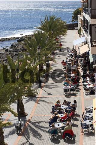 La Playa in Valle Gran Rey - Canary Islands - La Gomera