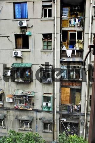 Back facade, Chengdu, Sichuan, China