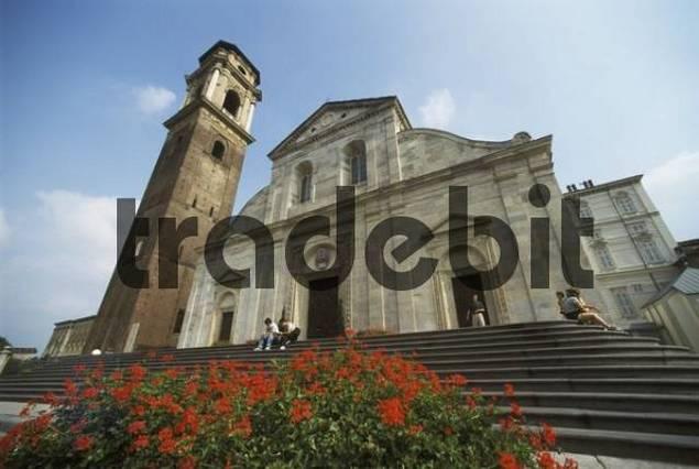 Turin Torino Piemonte Piedmont Italy Duomo S. Giovanni Battista 1498 well known by shroud of Jesus Christ