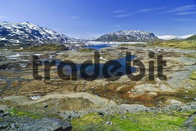 Fjell-landscape, Norway