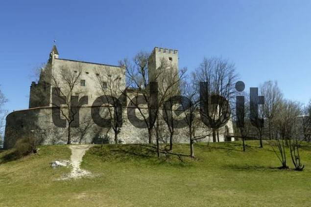 Bruneck castle, Castello di Brunico, South Tyrol, Italy