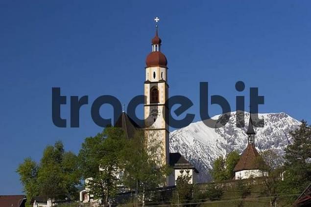 church in Tarrenz Tyrol Austria