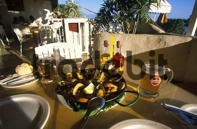 Paella in Restaurant Tu Casa in Puerto de Mogn Gran Canaria