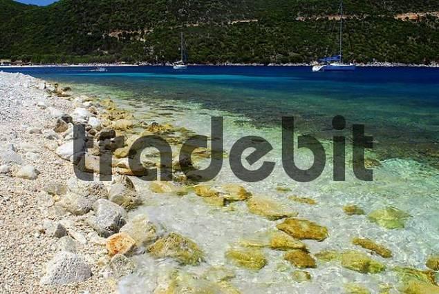 swimming bay, Kefalonia, Ionian Islands, Greece