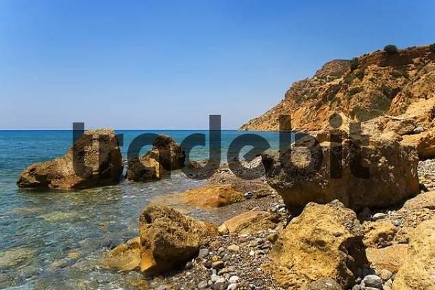 Bay, Southern Crete, Greece, Europe