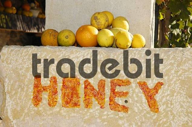 honey for sale, Altea, Costa Blanca, Spain, Speciality, food, nationaltypically