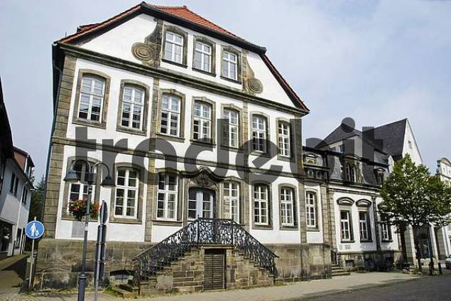 Baroque townhouse, Horn-Bad Meinberg, North Rhine-Westphalia, NRW, Germany