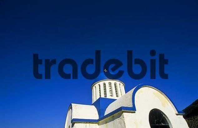 greek chapel, Crete, Greece