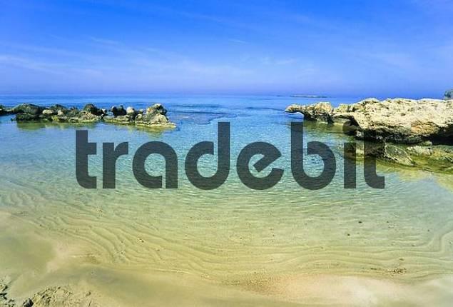 bay near Phalasarna, Crete, Greece