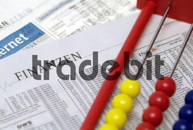 symbolic for finances, stock market