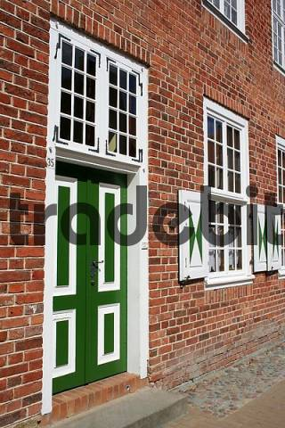 Doors and windows in the Dutch Quarter, Postdam, Brandenburg, Germany