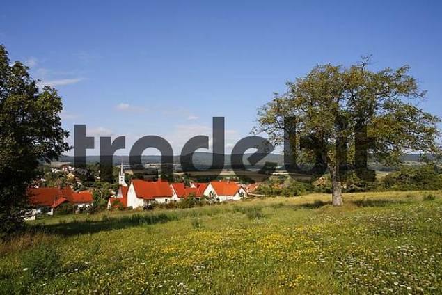 Sondheim vor der Rhoen, Franconia, Bavaria, Germany