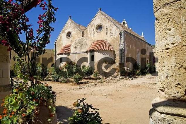 Arkadi Monastery, Iraklion Heraklion, Crete, Greece, Europe