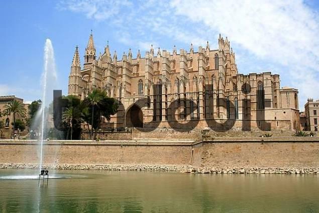 La Seu Cathedral, Palma, Mallorca, Spain