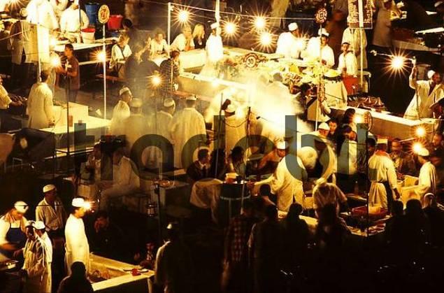 marketplace in Marrakech, Morocco