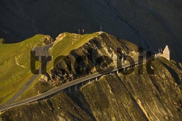 Fuscher Toerl, Grossglockner High Alpine Road, national park Hohe Tauern, Carinthia, Austria