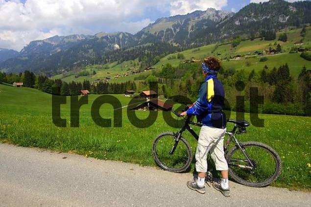 Bike tour in Simmental, Switzerland