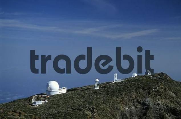 Observatory at the Rogue de los Muchachos, La Palma, Canary Islands, Spain