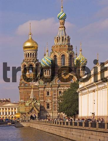 white Nights, GUS Russia St Petersburg 300 years old Venice of the North Gribojedow Chanel Ressurection Church built 1883 to 1907 by Ignati Malyschew and Alfred Parland highest Tower 81 m Moskowia