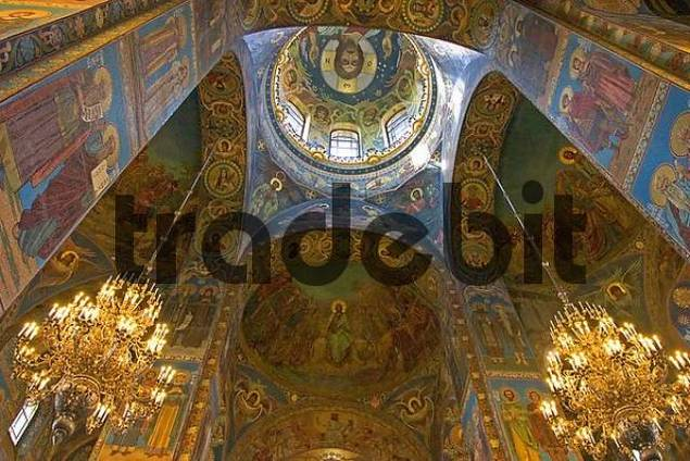 GUS Russia St Petersburg 300 years old Venice of the North Ressurection Church built 1883 to 1907 by Ignati Malyschew and Alfred Parland highest Tower 81 m Moskowian Style of 16 and 17 Century Con