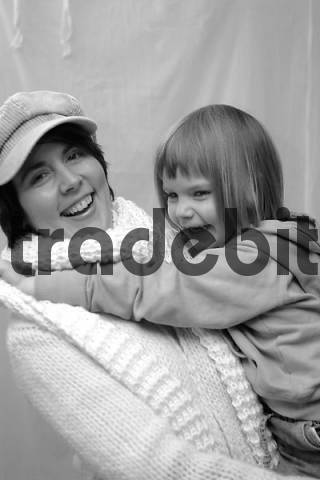 mother with girl