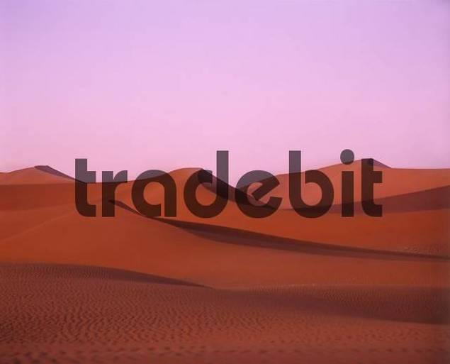 Dunes at sunrise - Sossusvlei - Namib dessert - Namibia