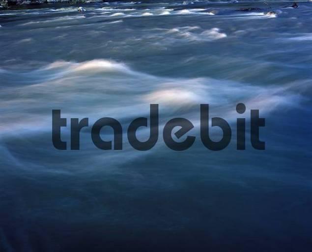 Isar river Bavaria Germany