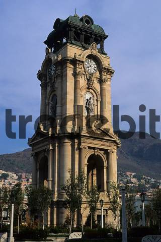 Mexico Hidalgo Pachuca clock tower
