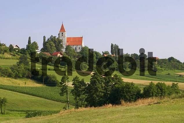 church Sv. Trije kralji in Benedikt v Slovenskih goricah - Slovenia