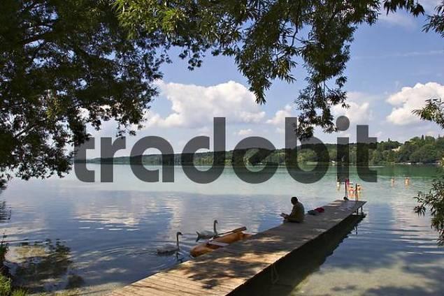 lake Pilsensee in Upper Bavaria