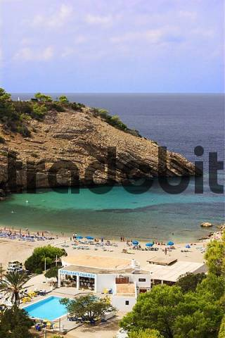 Cala Mol in the west of Ibiza