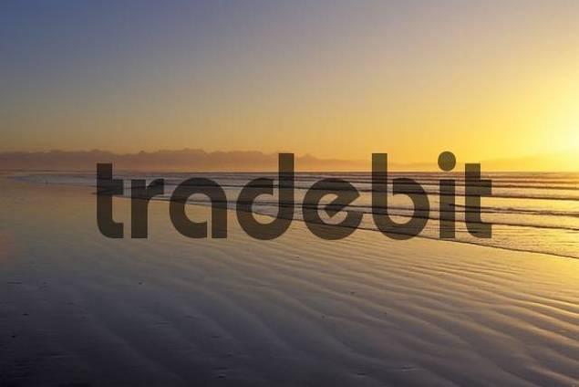 Sunrise at Muizenberg False Bay South Africa