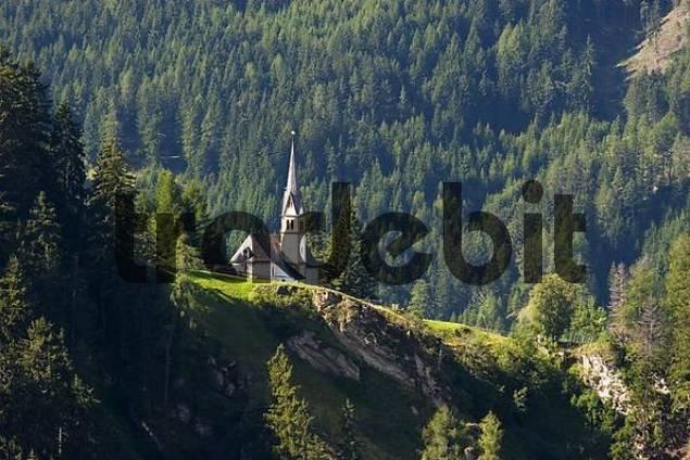 Navis St Kathrein in Wiptal valley Tyrol Austria