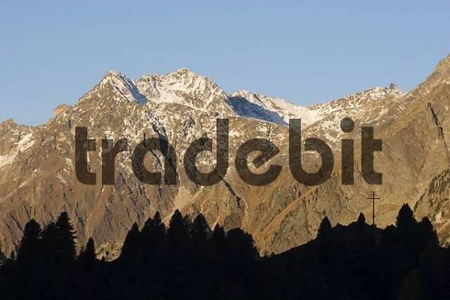 Stallersattel Riesenfernergruppe mountains Italy Austria