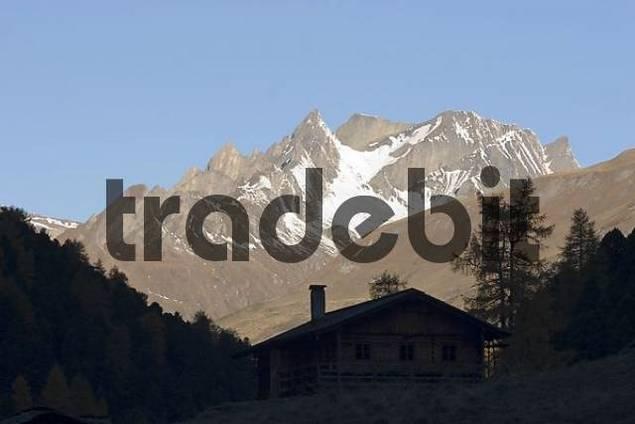National park Hohe Tauern Oberhausalpe Tyrol Austria