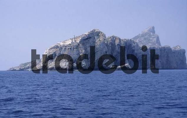Sa Dragonera island at the southern coast of Mallorca, Spain