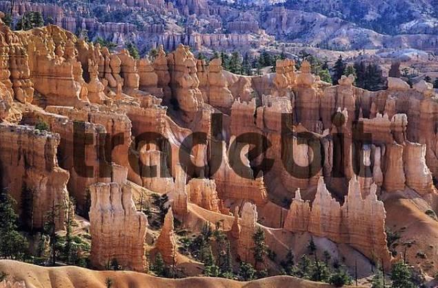 Rock formations at Bryce Canyon, Utah, USA