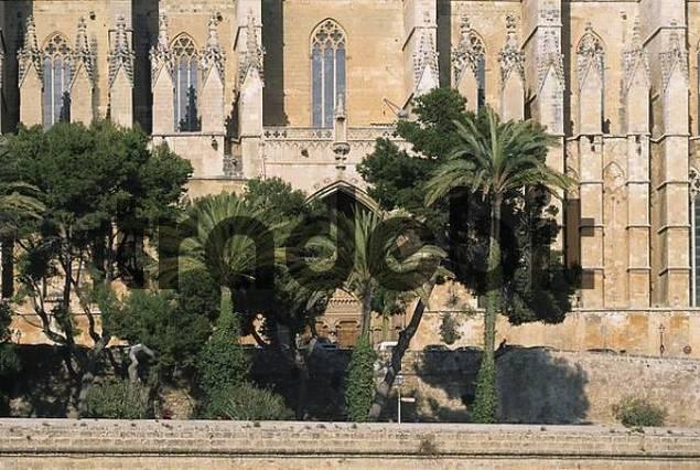 Spanien Palma de Mallorca Kathedrale La Seu