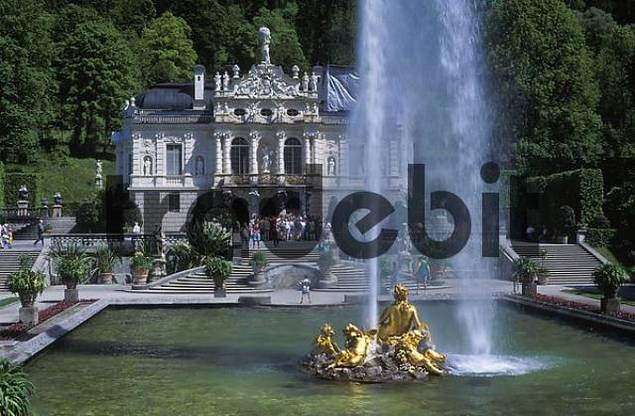 Linderhof Castle - Upper Bavaria - Germany