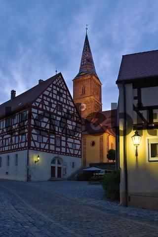 Wolframs-Eschenbach - Franconia - Germany