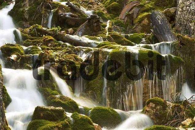 waterfall - Hinterautal in Tyrol - Austria