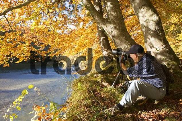 nature photographer - Isar Bavaria - Germany