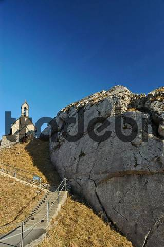 Chapel on Wendelstein, Bavaria, Germany