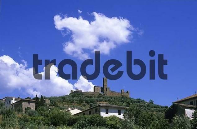 Toscana Arezzo Castello di Montecchio Vesponi