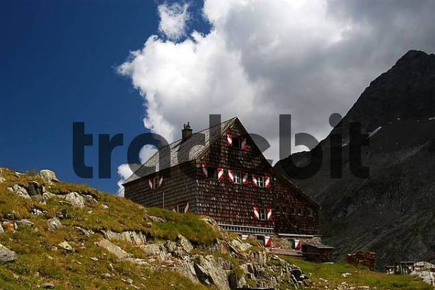 alpine hut, national park Hohe Tauern, Austria